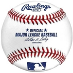"OFFICIAL MLB UNSIGNED ""BUD SELIG"" BASEBALL"