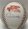 PAUL MOLITOR SIGNED MLB BLACK BASEBALL - JSA