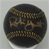 ROBIN YOUNT SIGNED MLB BLACK BASEBALL - JSA