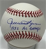 ROLLIE FINGERS SIGNED MLB BASEBALL W/ HOF & WS MVP
