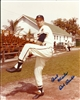 BOB BUHL (d) SIGNED 8X10 BRAVES PHOTO #1