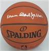 KAREEM ABDUL-JABBAR SIGNED SPALDING AUTHENTIC BASKETBALL - JSA