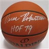 OSCAR ROBERTSON SIGNED SPALDING AUTHENTIC BASKETBALL W/ HOF '79 - JSA
