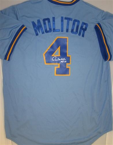 paul molitor jersey
