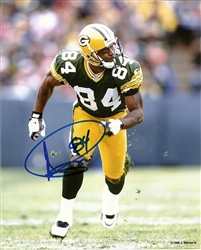 ANDRE RISON SIGNED 8X10 PACKERS PHOTO #5