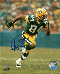 ANDRE RISON SIGNED 8X10 PACKERS PHOTO #6