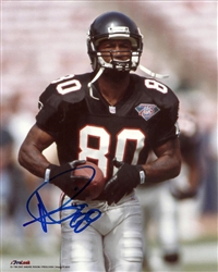 ANDRE RISON SIGNED 8X10 FALCONS PHOTO #8