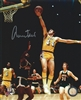 JERRY WEST SIGNED 8X10 LA LAKERS PHOTO #1