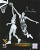 JERRY WEST SIGNED 8X10 WEST VIRGINIA PHOTO #4