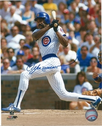 ANDRE DAWSON SIGNED 8X10 CUBS PHOTO #1