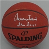 JERRY WEST SIGNED AUTHENTIC SPALDING BASKETBALL W/ THE LOGO - JSA