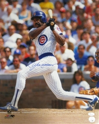 ANDRE DAWSON SIGNED 16X20 CUBS PHOTO #1 - JSA