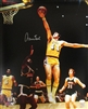 JERRY WEST SIGNED 16X20 LA LAKERS PHOTO #1 - JSA