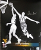 JERRY WEST SIGNED 16X20 WEST VIRGINIA PHOTO #4