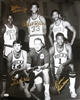 1971 MILW BUCKS SIGNED 16X20 PHOTO ABDUL-JABBAR, ROBERTSON +