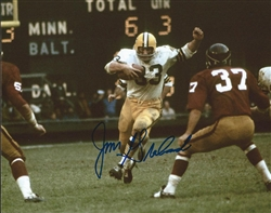 JIM GRABOWSKI SIGNED 8X10 PACKERS PHOTO #3