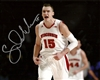 SAM DEKKER SIGNED 8X10 WI BADGERS PHOTO #2