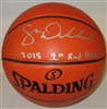 SAM DEKKER SIGNED SPALDING REPLICA NBA BASKETBALL - JSA