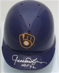 ROLLIE FINGERS SIGNED BREWERS RETRO MINI HELMET - JSA