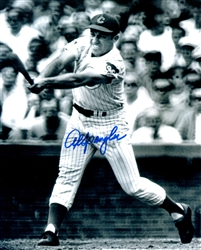 AL SPANGLER SIGNED 8X10 CHICAGO CUBS PHOTO #1