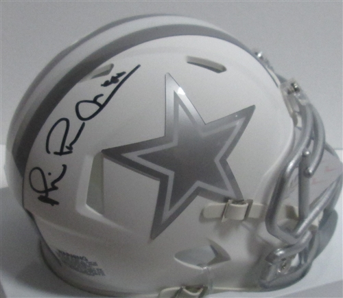 Michael Irvin Autographed Dallas Cowboys Speed Mini Helmet Beckett W Auth Black