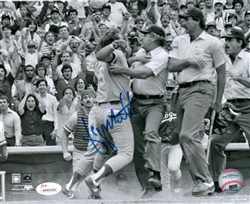 GEORGE BRETT SIGNED 16x20 ROYALS PHOTO #3 - JSA