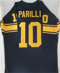 BABE PARILLI SIGNED CUSTOM THROWBACK PACKERS JERSEY