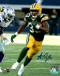 AARON JONES SIGNED 8X10 PACKERS PHOTO #2