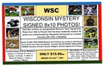 WSC MYSTERY 8x10 BOX PACK - WI SPORTS EDITION SERIES 18
