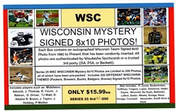 WSC MYSTERY 8x10 BOX PACK - WI SPORTS EDITION SERIES 9