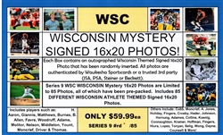 WSC MYSTERY 16X20 BOX PACK - WI SPORTS EDITION SERIES 3 - SOLD OUT