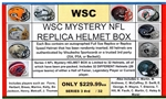 WSC MYSTERY HELMET BOX - NFL/NCAA LEGENDS EDITION SERIES 1