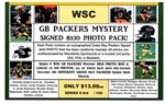 WSC MYSTERY 8x10 BOX PACK - GB PACKERS EDITION SERIES 8