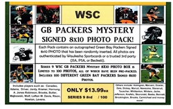 WSC MYSTERY 8x10 BOX PACK - GB PACKERS EDITION SERIES 2