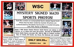 WSC MYSTERY 16X20 BOX PACK - MISC SPORTS EDITION SERIES 2