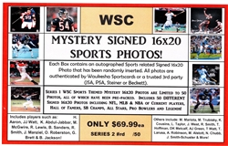 WSC MYSTERY 16X20 BOX PACK - MISC SPORTS EDITION SERIES 1