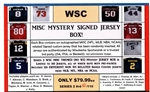 WSC MYSTERY SIGNED JERSEY BOX - MISC THEMED - SERIES 2