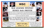 WSC MYSTERY 8x10 BOX PACK - MLB LEGENDS THEME SERIES 2