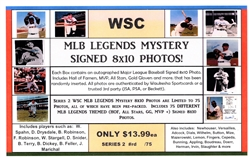 WSC MYSTERY 8x10 BOX PACK - MLB LEGENDS THEME