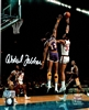 KAREEM ABDUL-JABBAR SIGNED 8X10 MILW. BUCKS PHOTO #1 - JSA