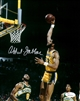 KAREEM ABDUL-JABBAR SIGNED 8X10 LA LAKERS PHOTO #1 - JSA