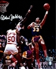 KAREEM ABDUL-JABBAR SIGNED 8X10 LA LAKERS PHOTO #2 - JSA