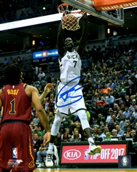 THON MAKER SIGNED 8X10 BUCKS PHOTO #3