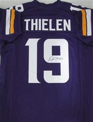 ADAM THIELEN SIGNED CUSTOM VIKINGS JERSEY - JSA