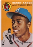HANK AARON - Early December - PRIVATE SIGNING - SOLD OUT