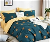 Harper 100% Cotton Reversible Duvet Cover Set Queen/Full