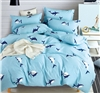 Kids Leighton Ocean Shark 100% Cotton Comforter Set