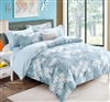 Laura 100% Cotton Reversible Comforter Set