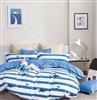 Kids Lennon Blue Whale 100% Cotton Comforter Set