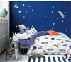 Johanas  Rocket Ship  100% Cotton Comforter Set